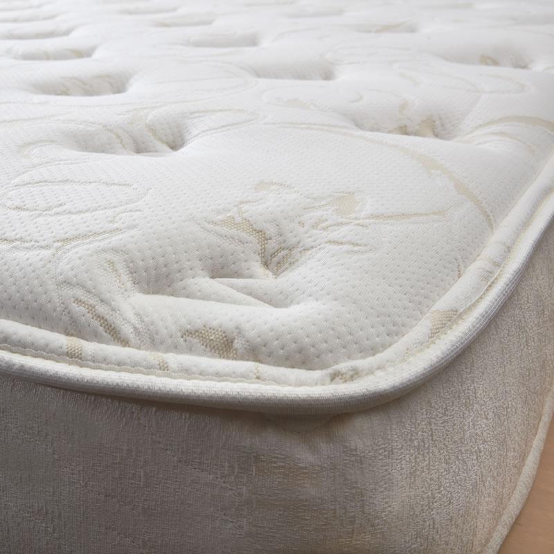 mattress close up